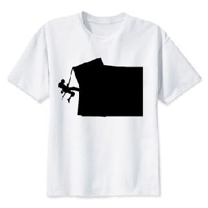 Digital Printing 3d Round Neck Mens T Shirt