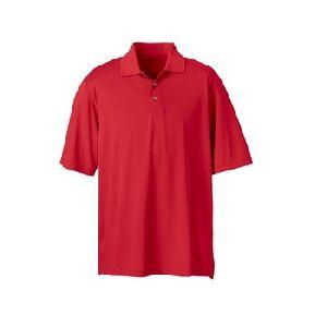 Pique Plain Sport Polo T Shirt