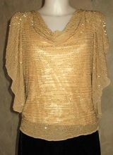Palle Yellow Designer Top Silk With Hand Beaded Surface