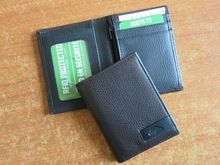 Mens Double Sided Credit Card Slots Leather Wallets