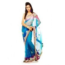 Indian Pakistani Designer Party Wear Saree