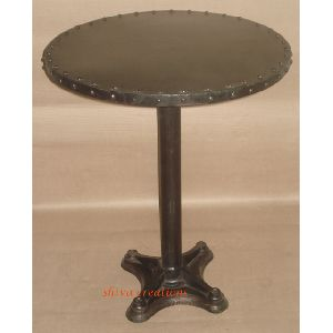 Industrial Vintage Cast Iron Dining Table
