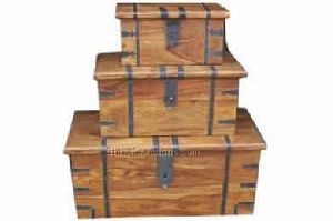 Wooden Trunks
