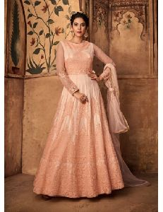 Anarkali Suit With Embroidery Work