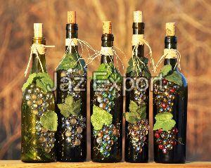 Decorative Waste Glass Bottle