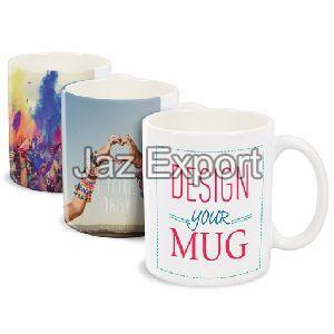 White Customized Mugs