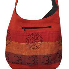 Designer Block Print Shoulder Bag