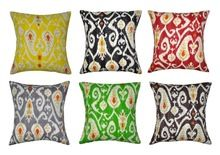 Indian Kantha Cushion Cover Multi color Cotton Cushion Cover