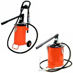 Bucket Grease Pump - Grease Dispenser With / Without Trolly 15 KG