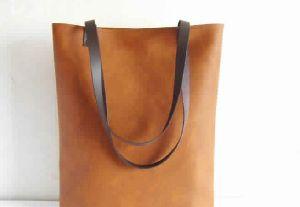 Designer Leather Tote Bag
