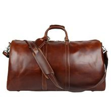 Travelling Duffle Leather Bags