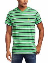 Summer Mens T-shirts Short Sleeve V Neck Cotton Men