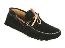 Suede Leather Moccasin Driving Shoe