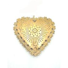 Metal Christmas Heart Shaped Stylish Hanging Ornament