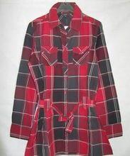 Ladies Cotton Checked Shirts