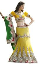 Wedding Party Embroidered Bridal Lehenga
