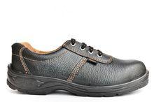 High Heel Steel Toe Pu Industrial Safety Shoe