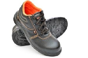 Black Steel Toe Oil Industrial Safety Shoes