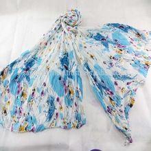 100% Viscose Printed Fashion Lady Scarf Shawls