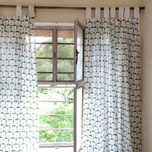 Designs Cotton Printed Window Curtains Living Room,curtain Window, Hotel Window Curtain