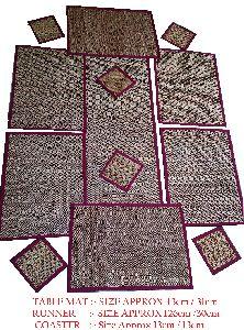 Handwoven Maddur Kathi Table Mat