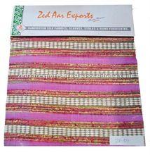 Furnishing Silk Handloom Stripe Fabric