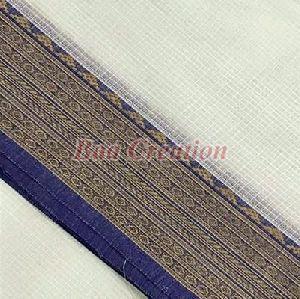 White Cotton Saree