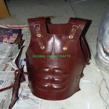 Medieval Leather Vintage Roman Muscle Armor