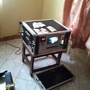 Automatic Cleaning Machine For Black Currency