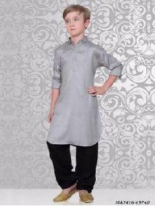 Kids Silk Kurta Pajama