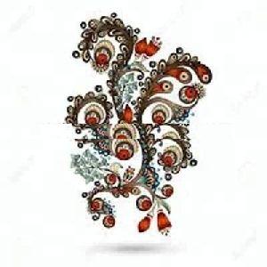 Glitter Belly Decoration Tattoo