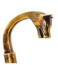 Nautical Antique Brass Elliot Push Button Compass