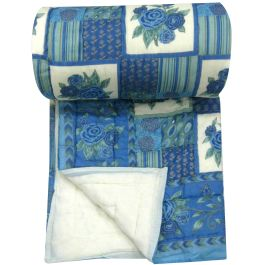 Hand Printed Cotton Quilts Blanket