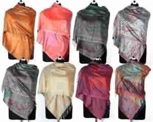 Mix Of Woven Designer Shawls