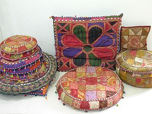 Tribal Ottomans cover