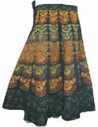 Wrap Around Long Skirt