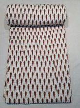 Hand Block Printed Queen Jaipuri Quilts
