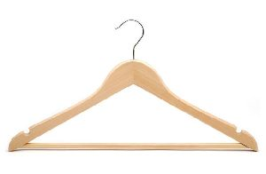 wooden shirt hanger