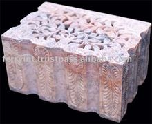 Soap Stone Carved Box