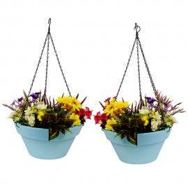 Wonderland Set of 2 Hanging Planter