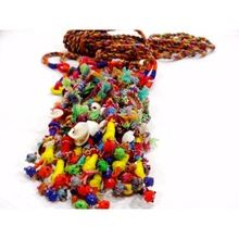 Tribal Handbag Tassels Key Chain