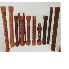 Wooden Stair Case Pillar