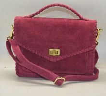 Fashion Suede Leather Ladies Shoulder Bag