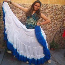 Cotton Elegant Wear Long Cotton Skirt