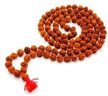 Rudraksh mala 6-7 mm 108 beads