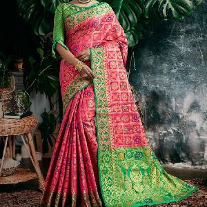 Fine-weaving Heritage Collection Presents Pure Silk Patola