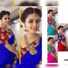 Chaderi Cotton Fabric Saree