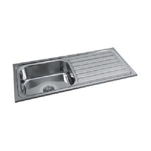 Single Bowl With Drain Board Sink