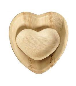 Areca Heart Shape Plates