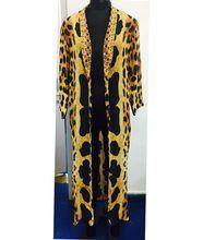 Custom Dress Digital Printed Long Kaftan